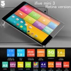 FNF ifive mini3 Retinaモデル  RAM2GB 16GB Android4.4