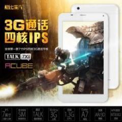 CUBE Talk7X四核 U51GT IPS液晶 3G BT GPS搭載 Android4.2