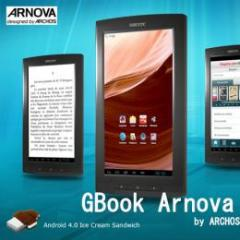 ARCHOS ARNOVA GBOOK Android4.0 ブックリーダーに最適激安タブレット