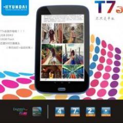 HYUNDAI T7S IPS液晶 16GB Android4.0 ホワイト 予約受付中