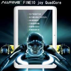 ALLFINE FINE10 joy 四核 IPS液晶 Android4.1 予約受付中
