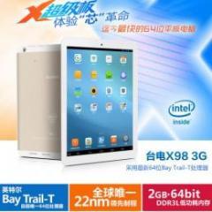 Teclast X98 3G intel 3735D(クアッドコア) RAM2G Retina液晶 3G GPS BT搭載 Android4.2 予約受付中