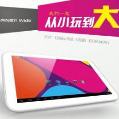 ALLFINE FINE11Wide RAM2G 32GB 11.6インチ Android4.1