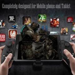 Android/iOS/Windwos対応 iPega PG-9023 Bluetooth ゲームコントローラー ゲームパッド 伸縮性ホルダー iPhone、タブレット対応