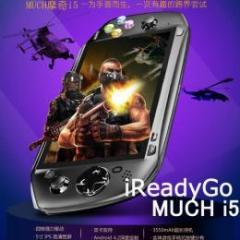MUCH i5 IPS液晶(1280x720) 3G BT GPS搭載 Android4.2