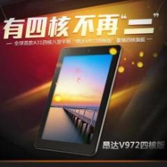 ONDA V972 四核版 16GB RAM2GB Retinaディスプレイ(2048x1536)Android4.2 ホワイト