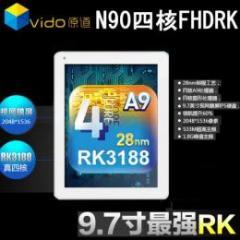 原道N90四核FHDRK Retina 16GB  RAM2GB Android4.1