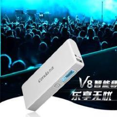 Cenda USB/MicroUSB 10000mA大容量モバイルバッテリー