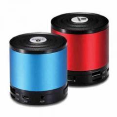 Bluetooth ワイヤレススピーカー iPhone5、アンドロイドなどスマートフォンでの利用が便利!USBスピーカー&MP3再生可能 レッド