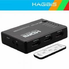 リモコン付きHDMIセレクター HDMI切替機 5回路切替器 5入力1出力