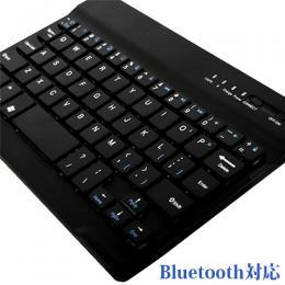 全インチ対応、Windowsタブレットに最適!薄型Bluetoothキーボード ブラック