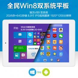 CHUWI V89 DualOS 64GB Intel Z3735F クアッドコア(1.83GHz) IPS液晶 BT搭載