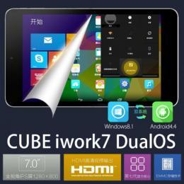 CUBE iwork7  DualOS intel Z3735F(クアッドコア) 32GB IPS液晶 BT搭載
