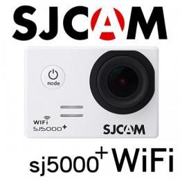 SJCAM SJ5000 Plus WiFiモデル 1080P ホワイト GOPROにも負けない防水アクションカメラ ドライブレコーダー カーマウント、バイクマウント込 海やスポーツ、自転車に!