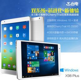 Teclast X98 Plus Dual 64GB RAM4G T3 Z8300 Retina液晶 BT搭載