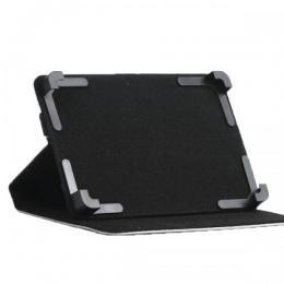 サイズ調整可能 10.1インチ タブレット専用スタンド付レザーケース
