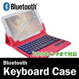 7〜8.1インチ、VOYO A1miniにも対応 脱着可能Bluetoothキーボード ピンク