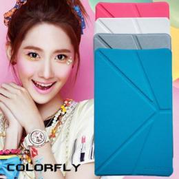 Colorfly G808 3G(八核)オクタコア 専用高品質カバーケース ブルー