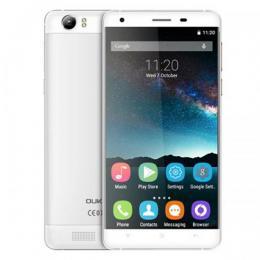OUKITEL K6000 64bit Quad-Core 5.5インチHD IPS液晶 4G LTE Android5.1 シルバー