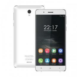 OUKITEL K4000 64bit Quad-Core 5インチHD IPS液晶 4G LTE SIMフリー Android5.1 ホワイト