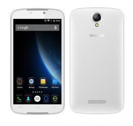 DOOGEE X6 Dual SIM 1GB RAM スマートフォン 3G MTK6580 ホワイト