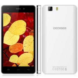 DOOGEE X5 Dual SIM 1GB RAM スマートフォン 3G MTK6580 ホワイト