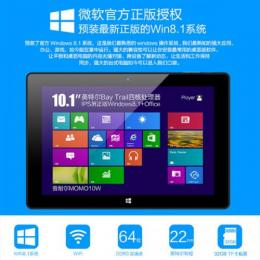 Ployer MOMO10W Intel Atom Z3735F(クアッドコア) RAM2G BT搭載 Windows8.1