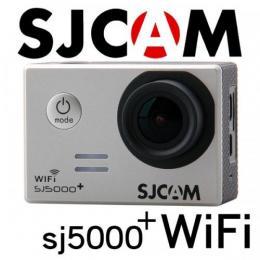 SJCAM SJ5000 Plus WiFiモデル 1080P シルバー GOPROにも負けない防水アクションカメラ ドライブレコーダー カーマウント、バイクマウント込 海やスポーツ、自転車に!