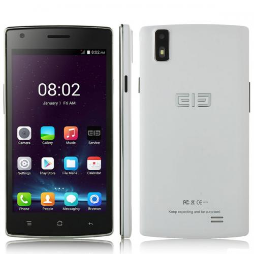 Elephone G4 Android4.4 5.0インチ ホワイト