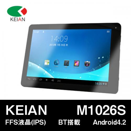 KEIAN 恵安 M1026S 10.1インチタブレット 8GB Dual Core Android4.2