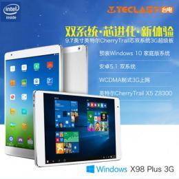Teclast X98 Plus 3G DualOS 64GB 4GRAM T3 Z8300 BT搭載