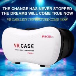 VR Case RK 5th 3DVRメガネ ヘッドレスト リモコン付 3.5- 6インチのスマートフォン対応