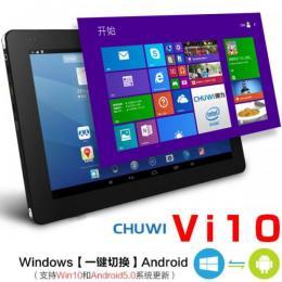CHUWI Vi10 DualOS 32GB 10.6インチ Intel Z3736F クアッドコア(2.16GHz)