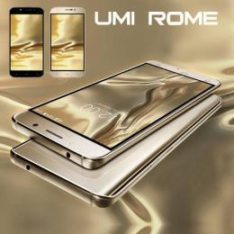 Umi ROME 5.5インチ SIMフリー スマートフォン 4G LTE Android 5.1 3GBRAM 16GB ゴールド