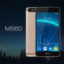 Infocus M560 5.2インチ オクタコア FHD 4G LTE 2GBRAM スマートフォン ゴールド