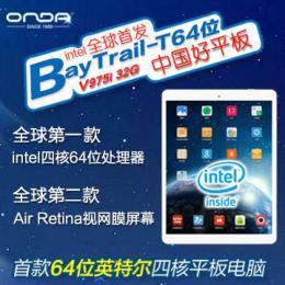 ONDA V975i intel 3735D(クアッドコア) RAM2G Retina液晶 BT搭載 Android4.2