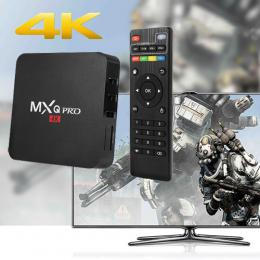 MXQ PRO 4K TV BOX Quad-Core Android 5.1 8GB 1GBRAM ブラック