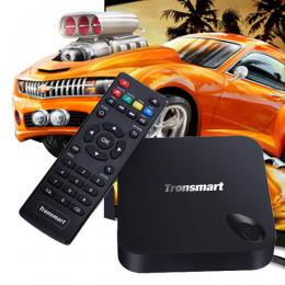 Tronsmart MXIII Plus (2G/8G+2.4Ghz/5Ghz) Quad Core Android TV BOX ブラック