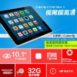 Colorfly CT102 Qise3 32GB FHD(1920x1200) IPS液晶 Android4.2
