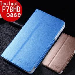 Teclast P78HD専用高品質カバーケース ゴールド