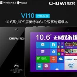 CHUWI Vi10 Pro DualOS 64GB 10.6インチ Intel Z3736F クアッドコア(2.16GHz)