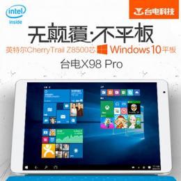 Teclast X98 Pro 64GB RAM4G T4 Z8500 Retina液晶 BT搭載 Windows10