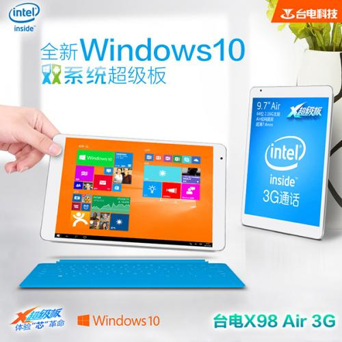 Teclast X98 Air 3G DualOS(WIN10) 64GB Intel Z3736F クアッドコア(2.16GHz) IPS液晶 BT搭載