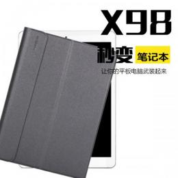 Teclast X98 Pro X98 Air 3G専用Bluetoothキーボード付き高品質ケース ブラック