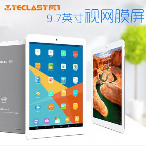 Teclast X98 Plus2 Android5.1 32GB 2GRAM Z8300 BT搭載
