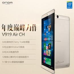 ONDA V919 Air CH Windows10 64GB RAM4G Retina液晶 BT搭載