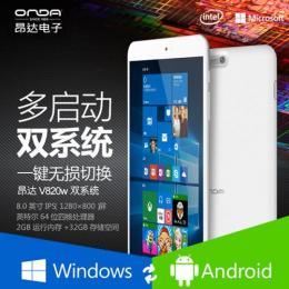 ONDA V820w DualOS(WIN10)Intel Z3735F クアッドコア(1.8GHz) IPS液晶 BT搭載