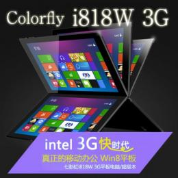Colorfly i818W 3G Intel Z3735F GPS IPS液晶 BT搭載 Windows8.1