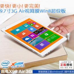 Teclast X98 Air 3G Intel Z3736F クアッドコア(2.16GHz) IPS液晶 BT搭載 Windows8.1