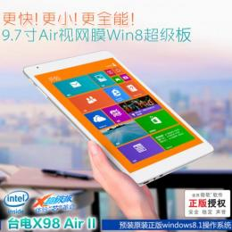 Teclast X98 Air2  Intel Z3736F クアッドコア(2.16GHz)  IPS液晶 BT搭載 Windows8.1